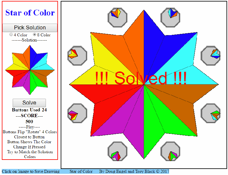 STAR OF COLOR